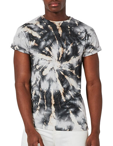 Topman Starburst Muscle Fit T-Shirt-MULTI-Medium