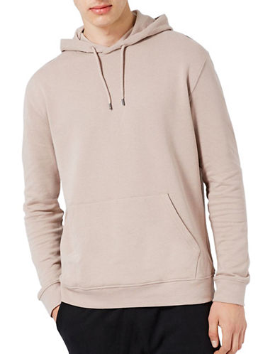 Topman Dray Hoodie-LIGHT BROWN-X-Small