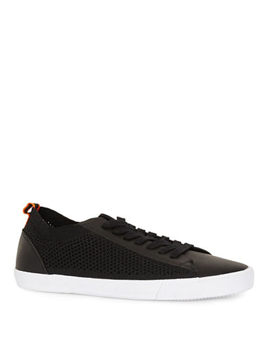 Topman Keys Mesh Sneakers-BLACK-45