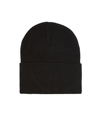 Topman Skater Beanie-BLACK-One Size