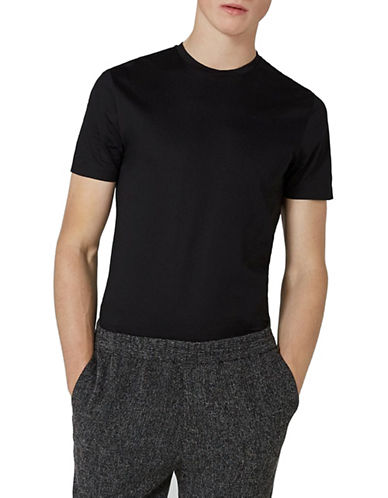 Topman Premium T-Shirt-BLACK-X-Small
