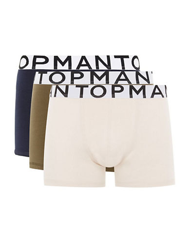 Topman Three-Pack Assorted Colour Trunks-MULTI BRIGHT-Small/Medium