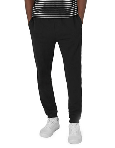 Topman Worldwide Taped Joggers-DARK BLUE-X-Large
