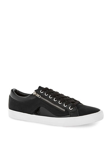Topman Loki Lace-Up Sneakers-BLACK-41