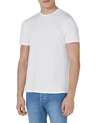 Topman Slim Fit T-Shirt-WHITE-Large 89924516_WHITE_Large