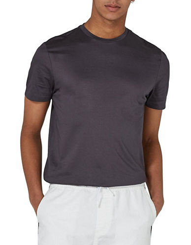 Topman Premium T-Shirt-GREY-X-Large