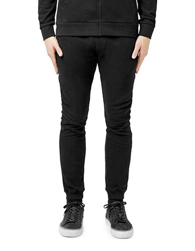 Topman Skinny Joggers-BLACK-Medium 88869264_BLACK_Medium