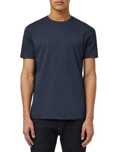 Topman Iris Slim Fit Crew Neck T-Shirt-BLACK-X-Small