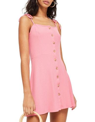 Topshop Ribbed Mini Dress 90179527