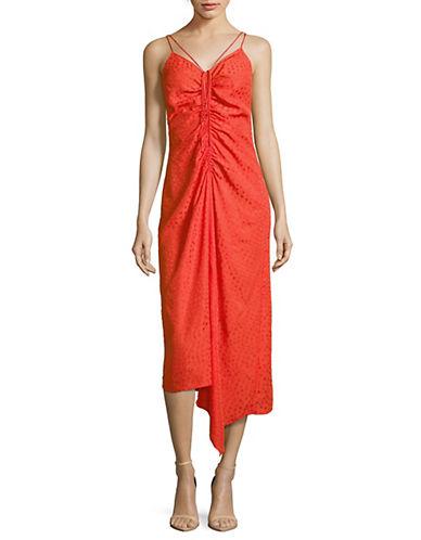 Star Jacquare Midi Dress by Topshop