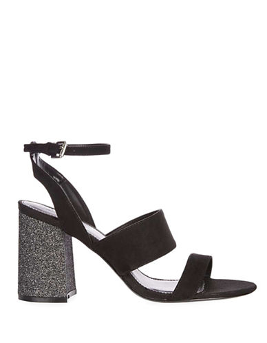 Topshop Mystery Velvet Sandals-BLACK-EU 37/US 6.5 88904087_BLACK_EU 37/US 6.5