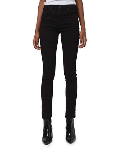 Topshop MOTO Leigh Skinny Jeans 32-Inch Leg-BLACK-28X32