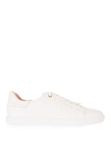 Topshop Catseye Sneakers-WHITE-EU 39/US 8.5