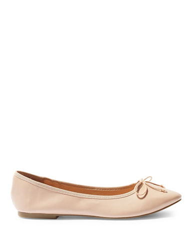 Topshop Vision Softy Ballet Shoes-NUDE-EU 39/US 8.5