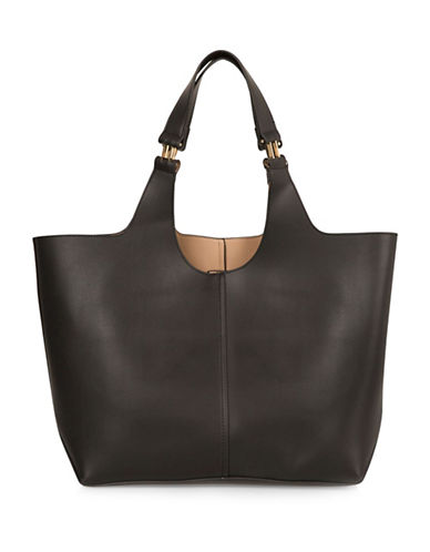 Topshop Sandy Tote-BLACK-One Size 89078360_BLACK_One Size