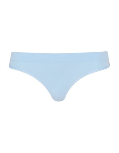Topshop Sporty Thong-LIGHT BLUE-Small