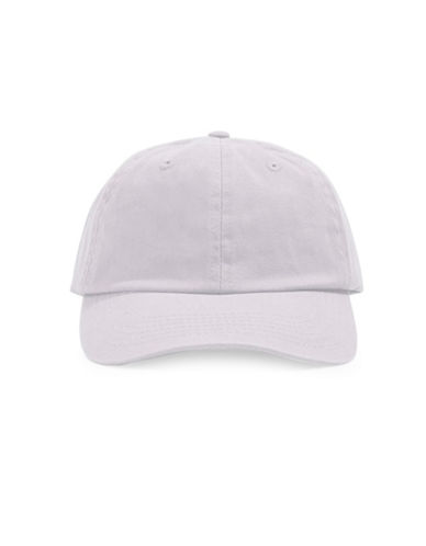 Topshop Washed Plain Baseball Cap-LILAC-One Size