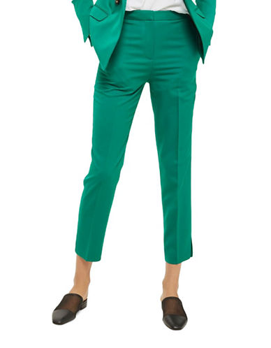 Topshop Fitted Suit Trousers-JADE-UK 10/US 6