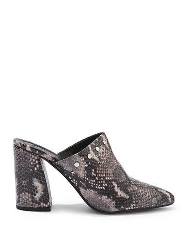 Topshop Genova High-Cut Flared Shoes-MULTI-EU 41/US 10.5