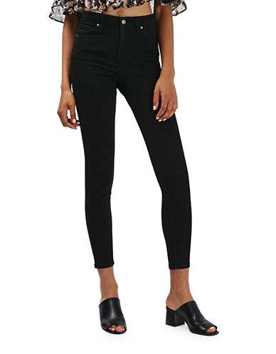 Topshop MOTO Jamie Jeans 30-Inch Leg-BLACK-25X30