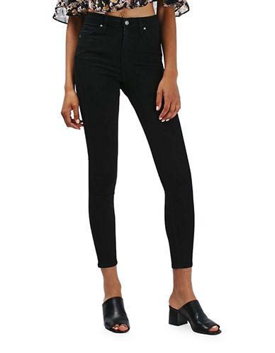 Topshop MOTO Jamie Jeans 34-Inch Leg-BLACK-24X34