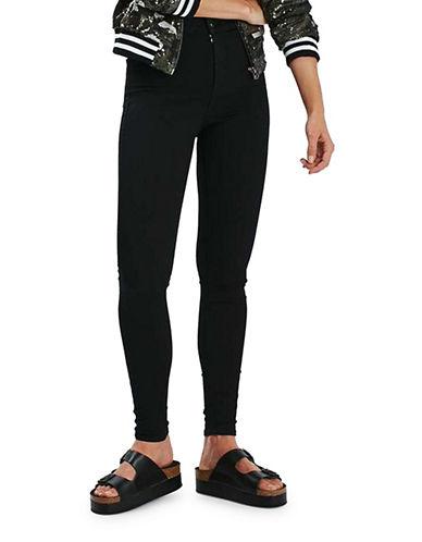 Topshop MOTO Joni Jeans 32-Inch Leg-BLACK-30X32