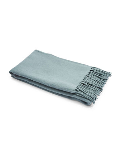 Topshop Super Soft Scarf-TEAL-One Size