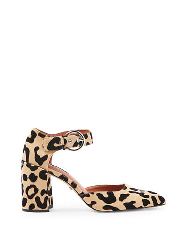 Topshop Gradual Two-Part Sandals-LEOPARD-EU 37/US 6.5