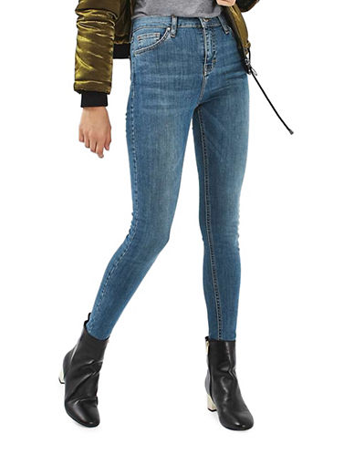 Topshop MOTO Jamie Jeans 30-Inch Leg-BLUE-28X30