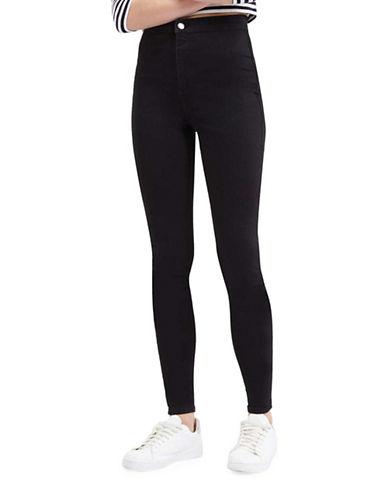 Topshop TALL Joni Jeans 36-Inch Leg-BLACK-32X36