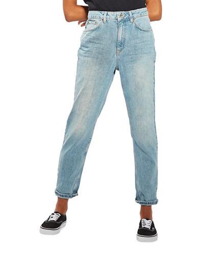 Topshop MOTO Vintage Bleach Mom Jeans 30-Inch Leg-BLEACH-30X30