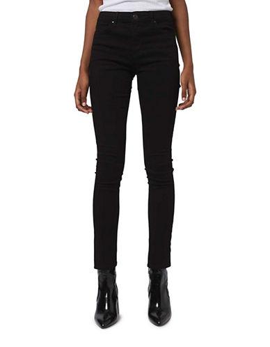 Topshop MOTO Leigh Jeans 34-Inch Leg-BLACK-26X34
