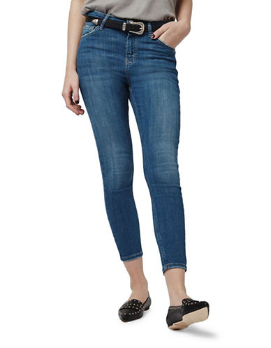 Topshop MOTO Jamie Jeans-BLUE GREEN-26X30