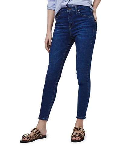 Topshop MOTO Jamie Jeans 34-Inch Leg-INDIGO-24X34