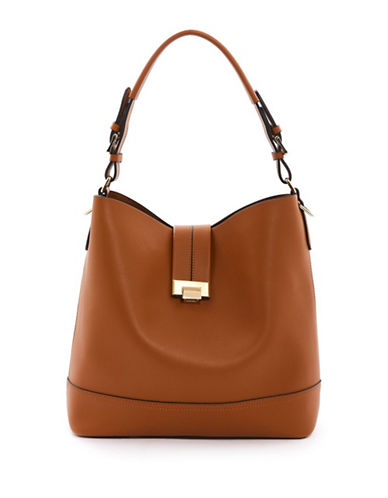 Topshop Andy Bucket Bag-TAN-One Size