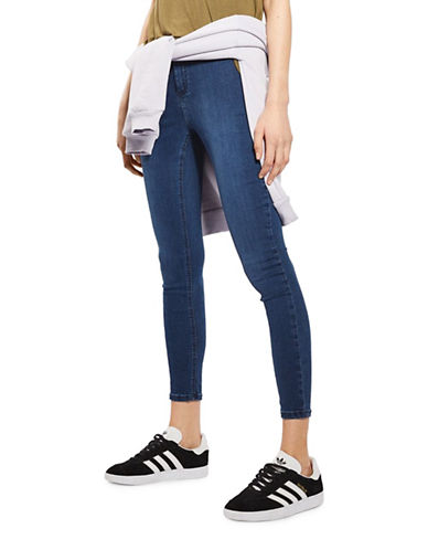 Topshop PETITE Joni Jeans 28-Inch Leg-BLUE-24X28