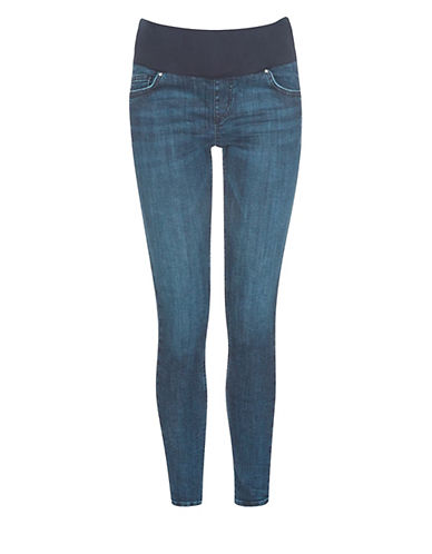 Topshop MATERNITY Jamie Jeans-BLUE-UK 14/US 10