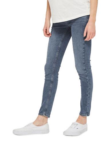 Topshop MATERNITY MOTO Jamie Skinny Jeans 30-Inch Leg-BLUE-UK 14/US 10