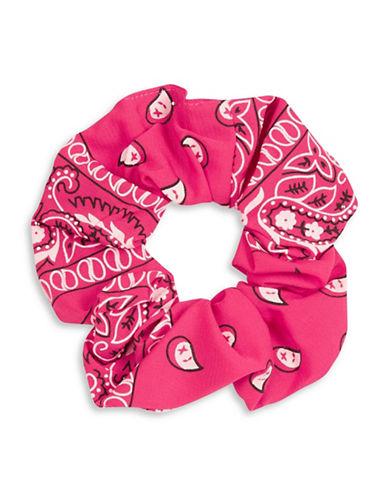 Topshop Bandana Scrunchie-PINK-One Size