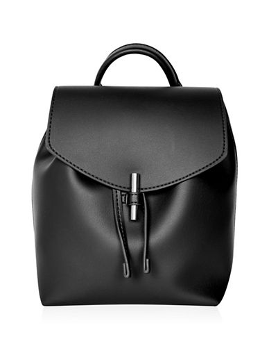 Topshop Blake Mini Backpack-BLACK-One Size