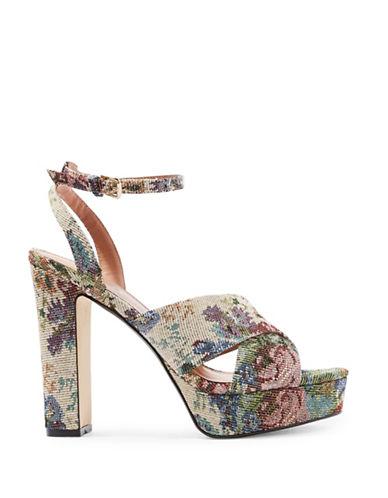Topshop Madrid Floral Platform Heels-FLORAL-EU 41/US 10.5