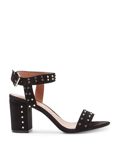 Topshop Morocco Studded Sandals-BLACK-EU 41/US 10.5