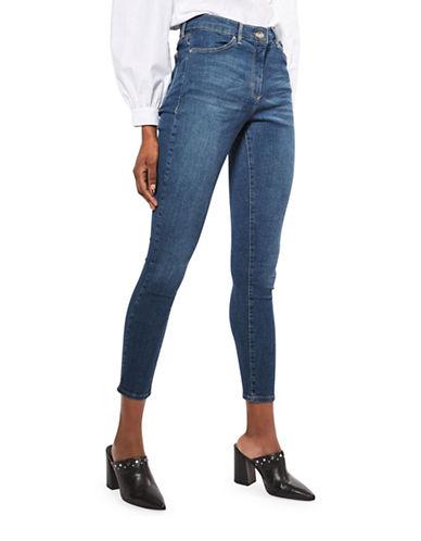 Topshop MOTO Leigh Jeans 30-Inch Leg-DARK STONE-26X30