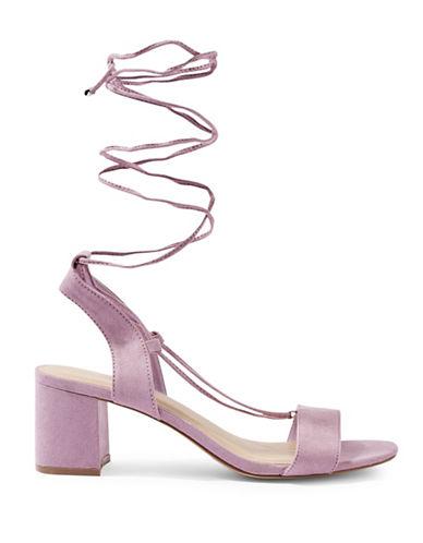 Topshop Daisy Mid Sandals-LILAC-EU 39/US 8.5