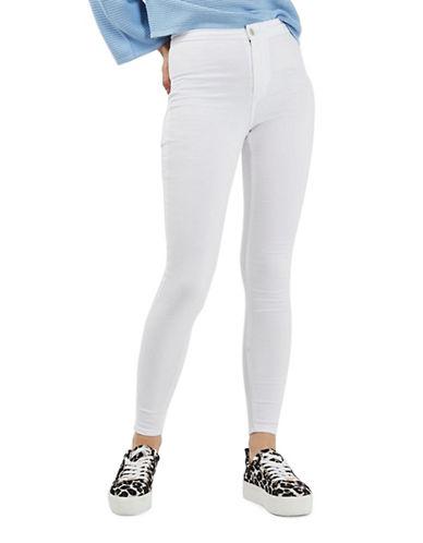 Topshop MOTO Joni Jeans 30-Inch Leg-WHITE-26X30