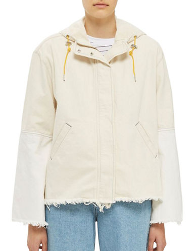 Topshop Denim Jacket by Boutique-CREAM-UK 6/US 2