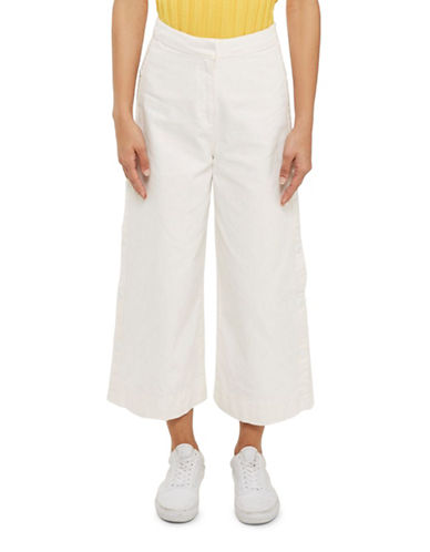 Topshop Popper Side Jeans by Boutique-CREAM-UK 8/US 4 89371533_CREAM_UK 8/US 4