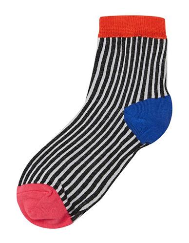 Topshop Vertical Stripe Ankle Socks-MULTI-One Size 89266052_MULTI_One Size