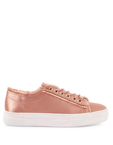 Topshop Caramel Flatform Sneakers-NUDE-EU 38/US 7.5