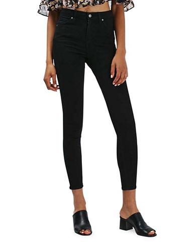 Topshop MOTO Jamie Jeans 34-Inch Leg-BLACK-25X34